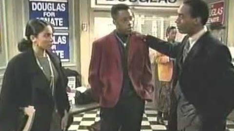 A Different World 5x19 - Dwayne tells Byron he slept with Whitley