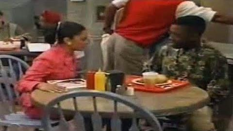 A Different World 5x02 - Whitley gets mad at Dwayne