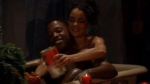 A Different World 6x17 - Dwayne and Whitley get sprayed by a skunk