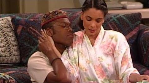 """A Different World 4x22 - Whitley tells Dwayne she's moving to """"New York"""""""