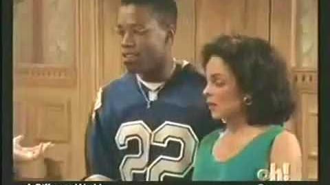 A Different World 6x25 - Marion and Adele help Dwayne and Whitley pack for Tokyo