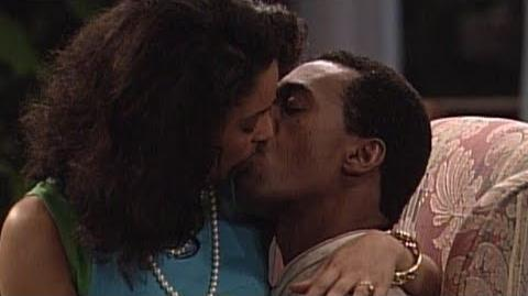 A Different World 5x24 - Whitley and Byron before the wedding