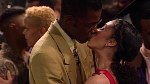 A Different World 4x22 - Dwayne and Whitley's graduation dance