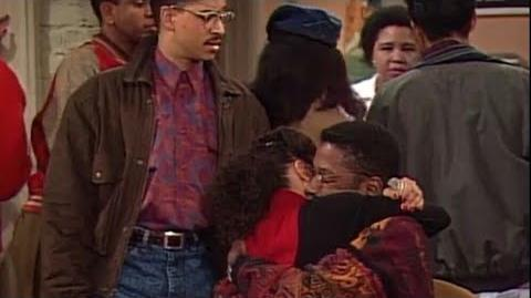A Different World 4x14 - Dwayne sells his computer to pay for Whitley's tuition