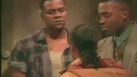 A Different World 6x11 - Dwayne gets into a bad altercation
