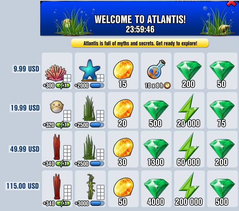 List Of Hidden Achievements For Diggys Adventure Christmas 2020 File:Welcome to Atlantis.   Diggy's Adventure Wiki