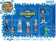 Digimon Powerdeck CDrom menu
