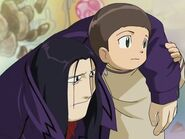 Cody with Yukio Oikawa