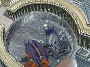 Megadramon and Gigadramon go into battle