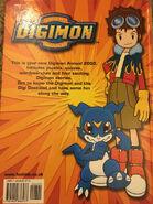 Digimon Annual 2002 back