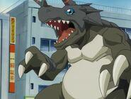 Digimon Brute Triceramon