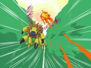 The attack did not hit Flymon