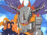 The Earthquake of MetalGreymon