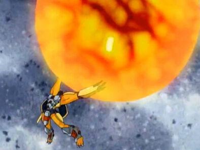 WarGreymon Fuerza de Gea