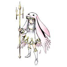 修女獸.白