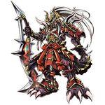 Gaiomon Fierce Blade Mode b