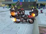 Digimon Masters screenshot - Riding Behemoth (Test)