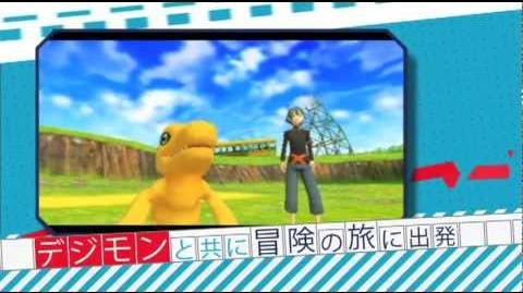 PSP「デジモンワールド_リ:デジタイズ」PV