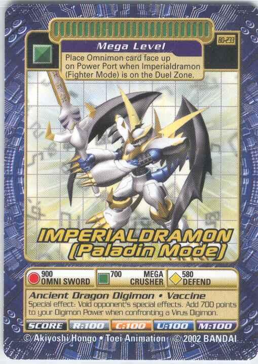 Imperialdramon Paladin Mode