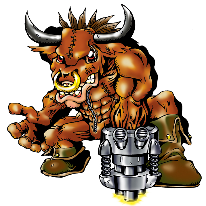 Minotaurmon (Adulto)