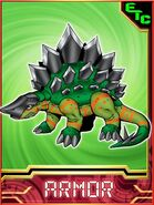 Stegomon Collectors Armor Card