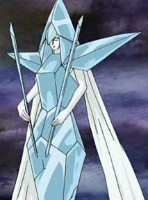 Kristallfrau