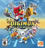 Digimon All-Star Rumble boxart