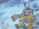 Gabumon hand anime