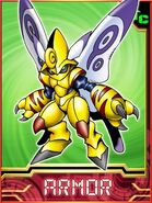 Butterflamon Collectors Armor Card