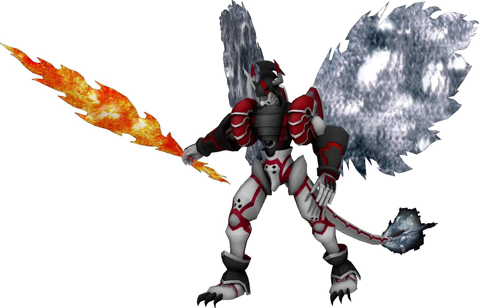 ShineGreymon Ruin Mode