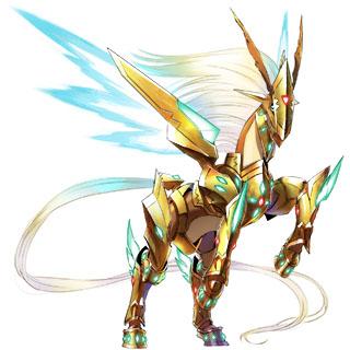 Pegasusmon X