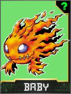 PetiMeramon Collectors Baby Card