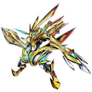 黃金拉比獸X
