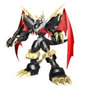 Imperialdramon fighter black