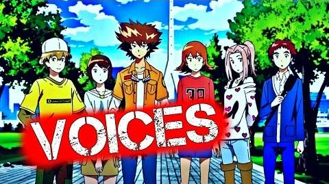 Digimon Adventure tri Cast 1080p Digimon Adventure tri Voices Japanese