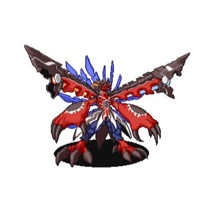 克罗伦兽·毁灭形态