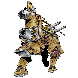 古代木马兽