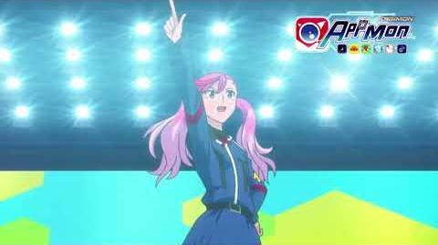 Digimon Appmon - 05 - Direct du droit dans ton coeur! Eri, la starlette des Appmons! PV