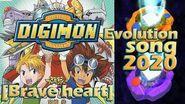 Digimon►Braveheart Evolution Song (2019)