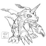 Digimon World Re-Digitize Gabumon concept art