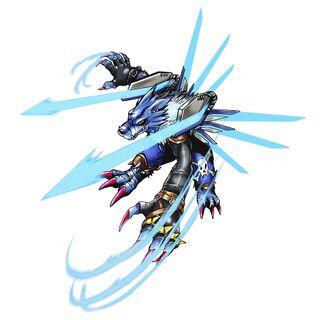獸人加魯魯 機翼型態