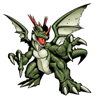 核龍獸(綠)