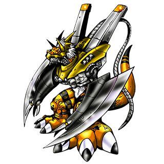 WarGrowlmon (Yellow)