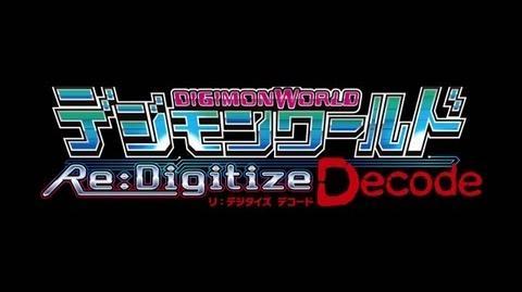Digimon World Re:Digitize: Decode