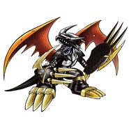 Blackimperialdramon Dragon Mode