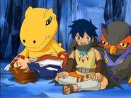 Masaru e Ikuto abismo - salvados