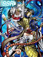 Sanzomon and Gokuwmon Collectors RE Card