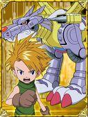 Yamato & MetalGaurumon Collectors Digimon Adventure Special Card