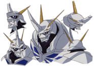 Omnimon tri head details