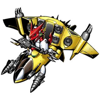 Shoutmon + Jet Sparrow